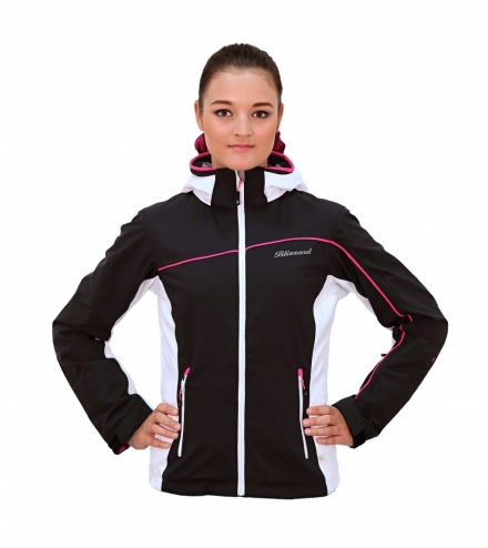 Lyžařská bunda blizzard Viva Power Jacket, black/white/pink