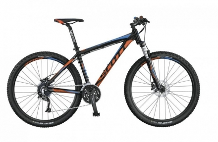 Horské kolo SCOTT Aspect 740 (black orange/blue)