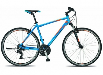 Krosové kolo KTM LIFE ONE model 2015 neon blue black+orange
