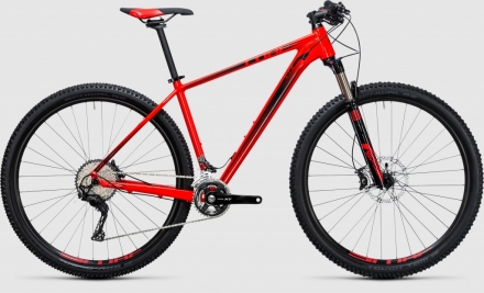 Horské kolo CUBE LTD Race red´n´black 29