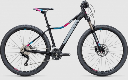 Horské kolo CUBE Access WLS Race black´n´blue 27,5