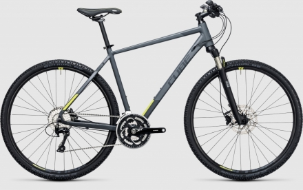 Krosové kolo CUBE Cross Pro grey´n´lime - model 2017