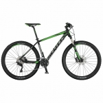 Horské kolo SCOTT Aspect 910 black/grey/green model 2017