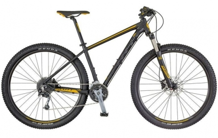 Horské kolo SCOTT ASPECT 730 2018 black/yellow