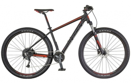 Horské kolo SCOTT ASPECT 940 2018 black/red