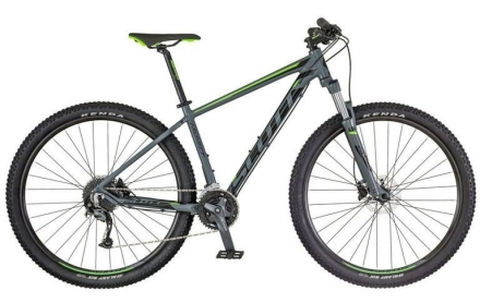 Horské kolo SCOTT ASPECT 740 2018 grey/green