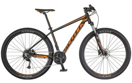 Horské kolo SCOTT ASPECT 750 2018 black/orange