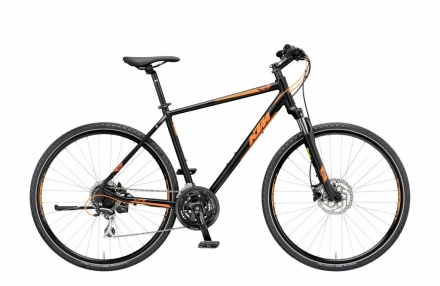 KTM LIFE TRACK 24 DISC model 2019  BLACK MATT