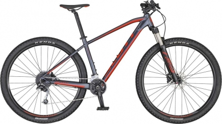 Horské kolo SCOTT ASPECT 940 2020 grey/red