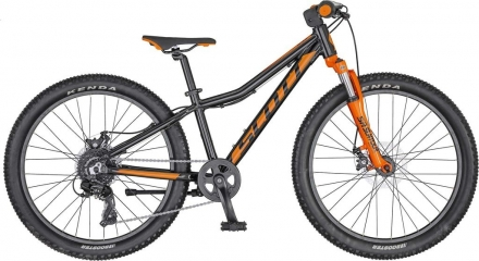 Dětské kolo SCOTT SCALE 24 DISC 2020 black/orange