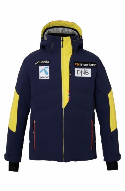 Pánská lyžařská bunda Phenix Norway Alpine Team Hybrid Down Jacket EFA72OT01 - MN1 - model 2021
